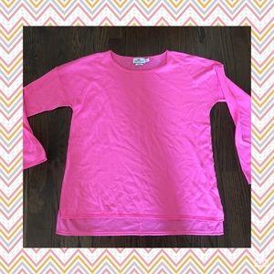 Vineyard Vines Merino sweater size large pink